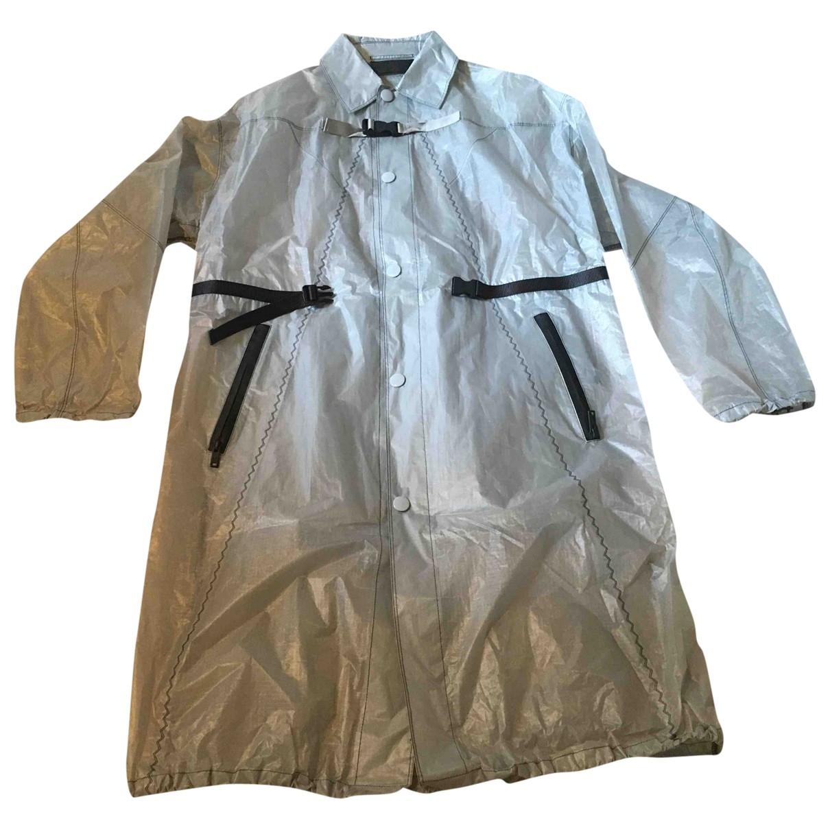 Prada \N Maentel in  Grau Polyester