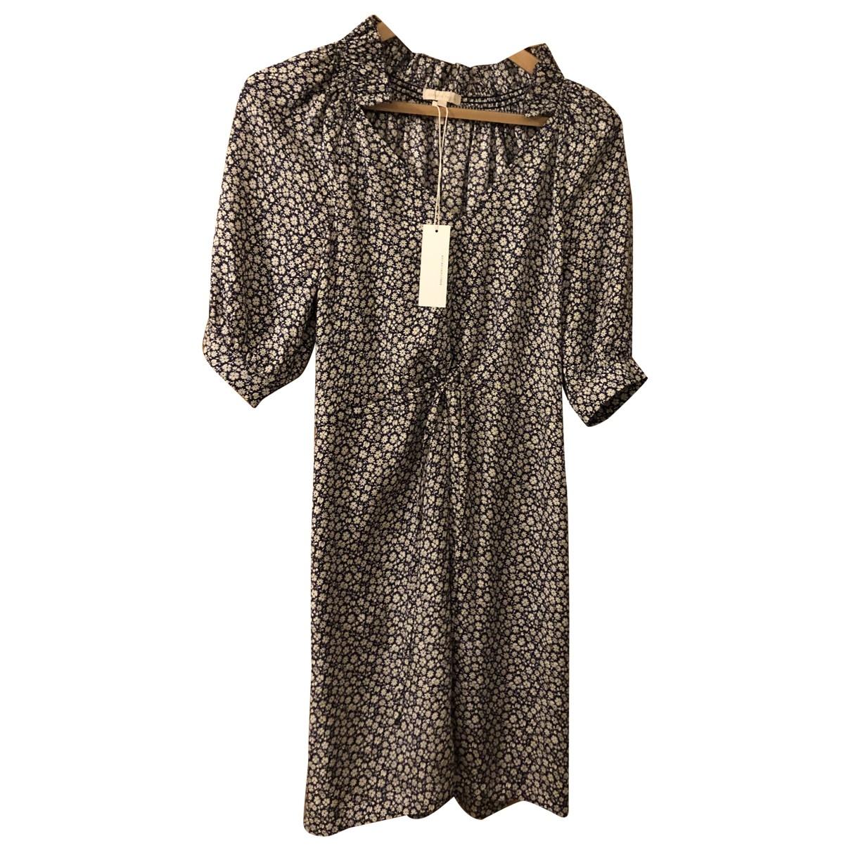 Rebecca Taylor \N Blue Silk dress for Women 2 US