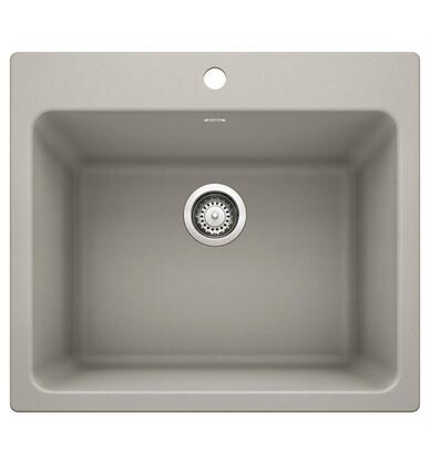 Liven 442762 Drop-In/Undermount Laundry Sink  in Concrete