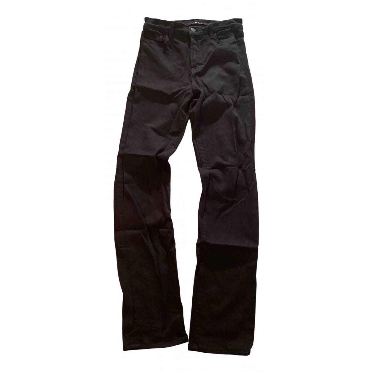 J Brand N Black Cotton - elasthane Jeans for Women 27 US