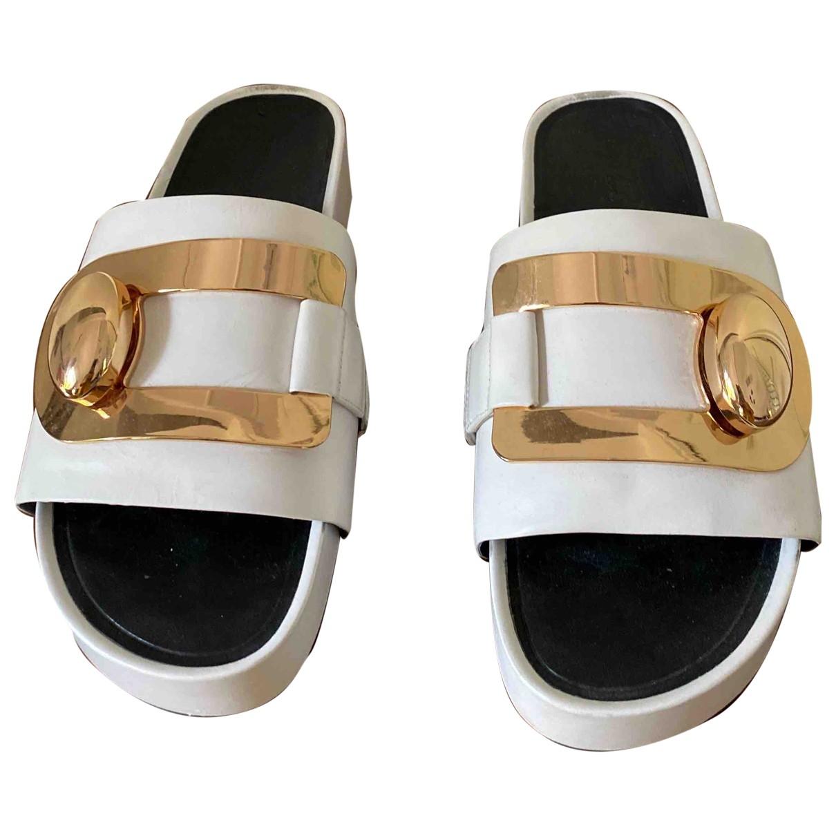 Stella Luna - Sandales   pour femme en cuir - blanc