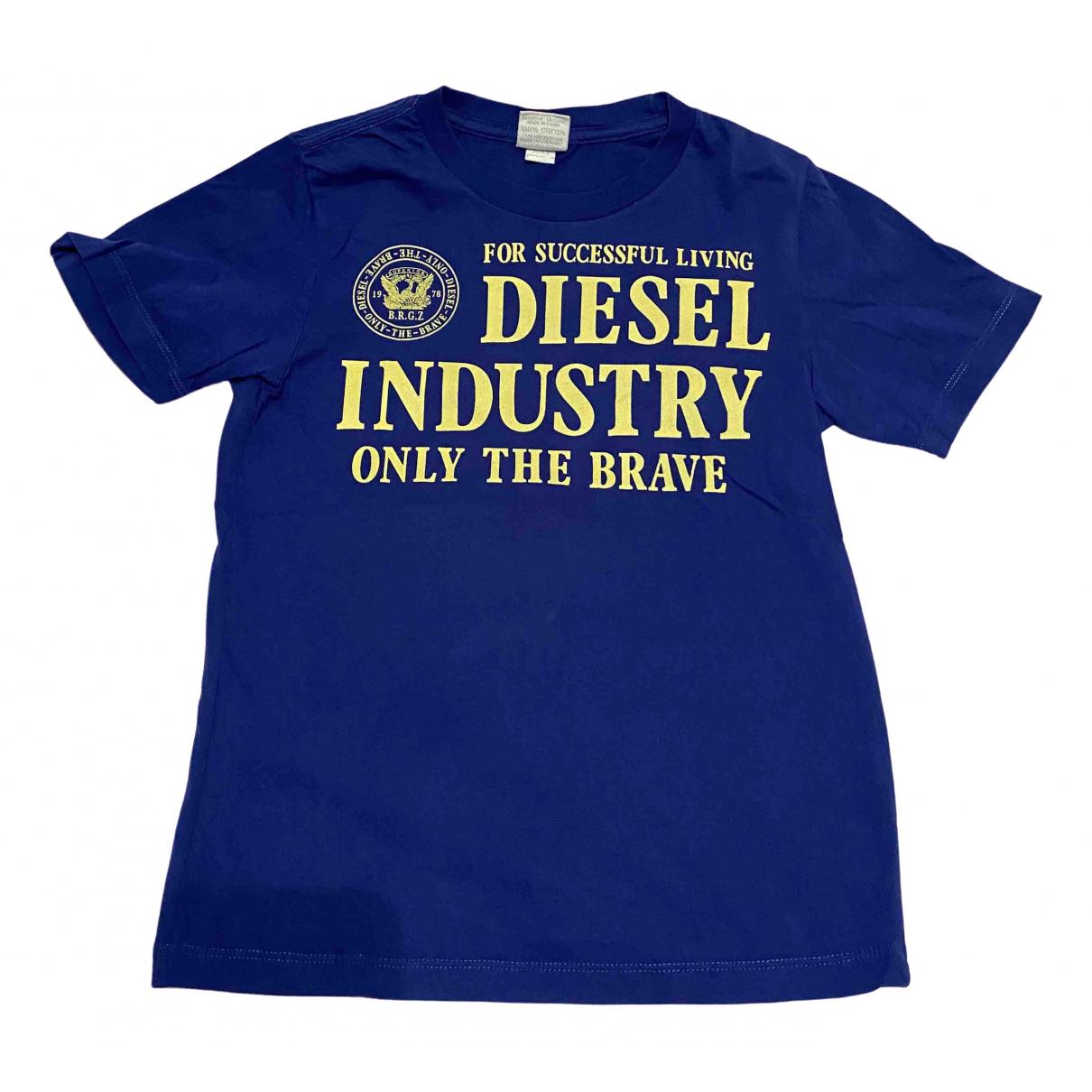 Diesel - Top   pour enfant en coton - bleu