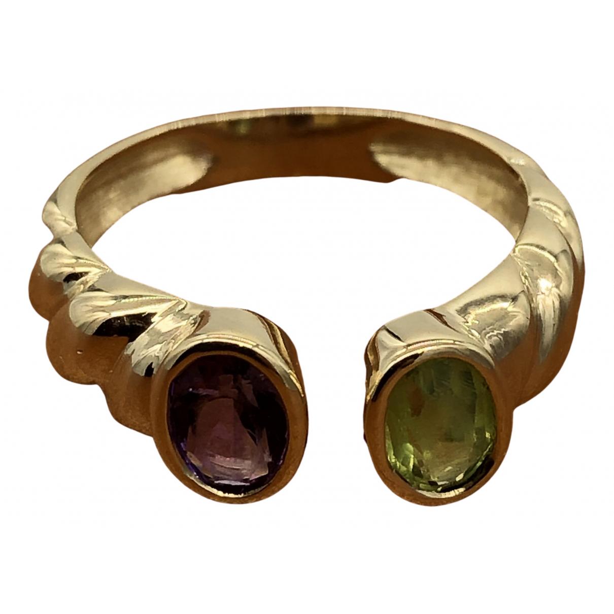 Autre Marque \N Ring in Gelbgold