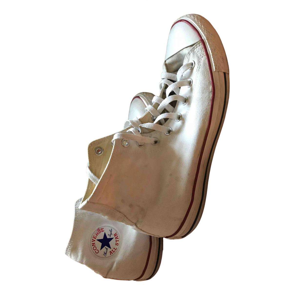 Converse \N Sneakers in  Weiss Leinen