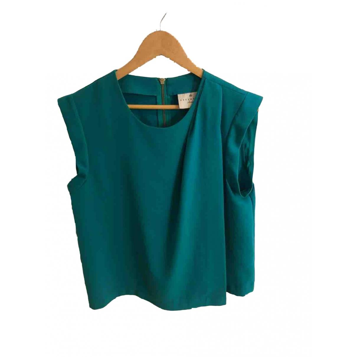 Essentiel Antwerp - Top   pour femme - vert