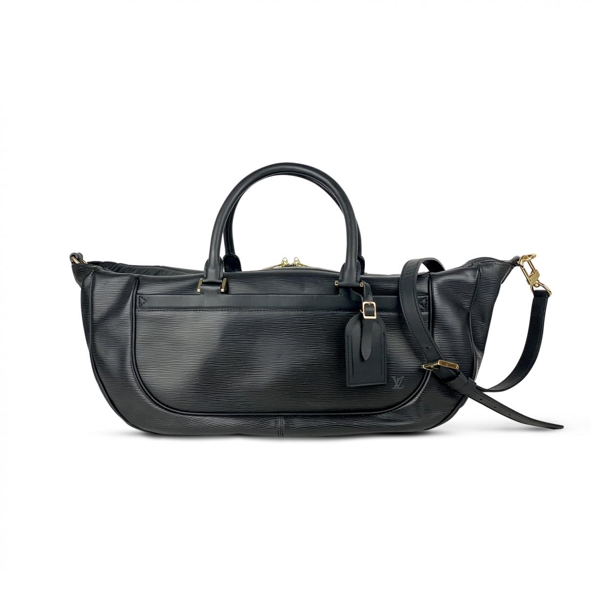 Louis Vuitton Dhanura Handtasche in  Schwarz Leder