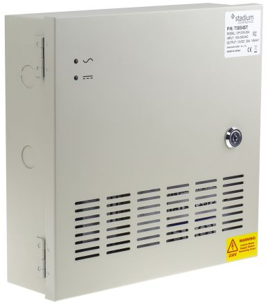 RS PRO , 240W Embedded Switch Mode Power Supply SMPS, 12V dc, Enclosed