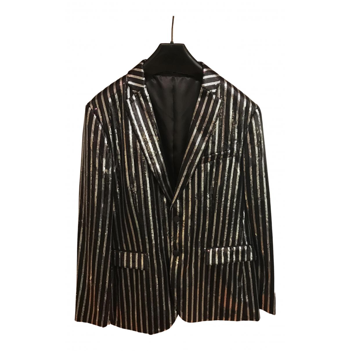 Zara - Vestes.Blousons   pour homme en a paillettes - gris