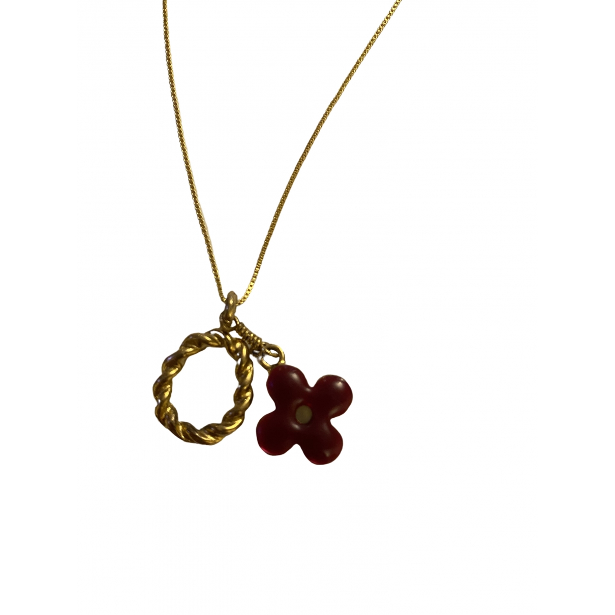 Louis Vuitton \N Kette in  Gold Metall