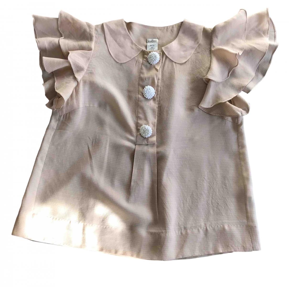By Malene Birger \N Pink Silk  top for Women 38 IT