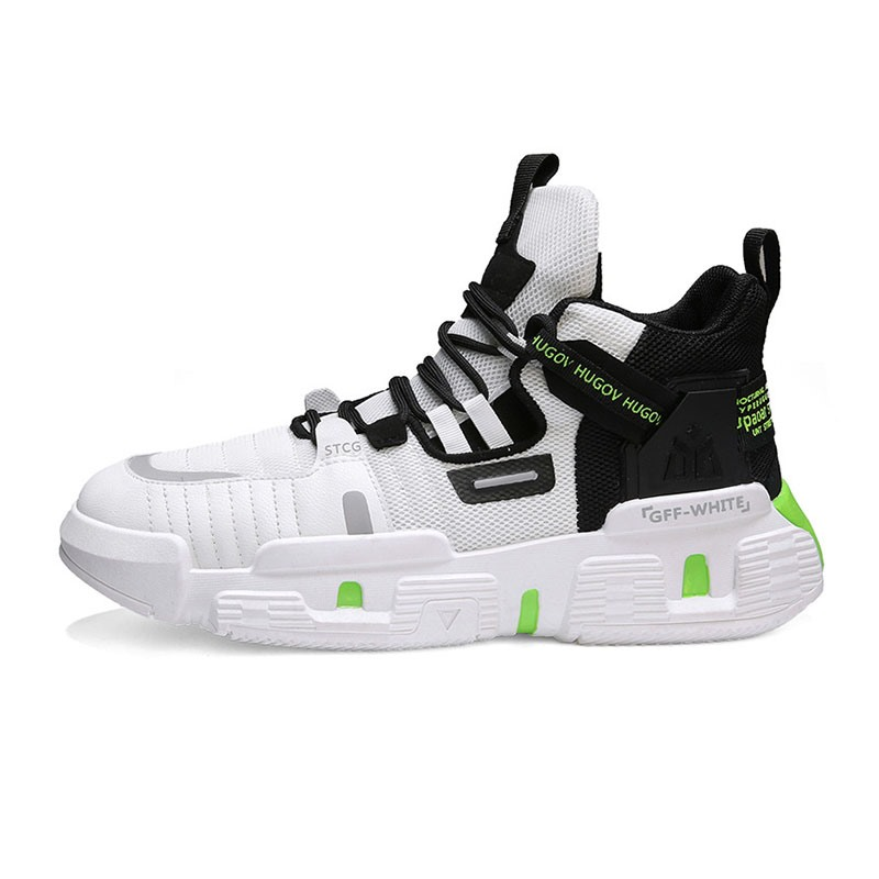 Ericdress Mid-Cut Upper Lace-Up Sports Round Toe Men's Sneakers