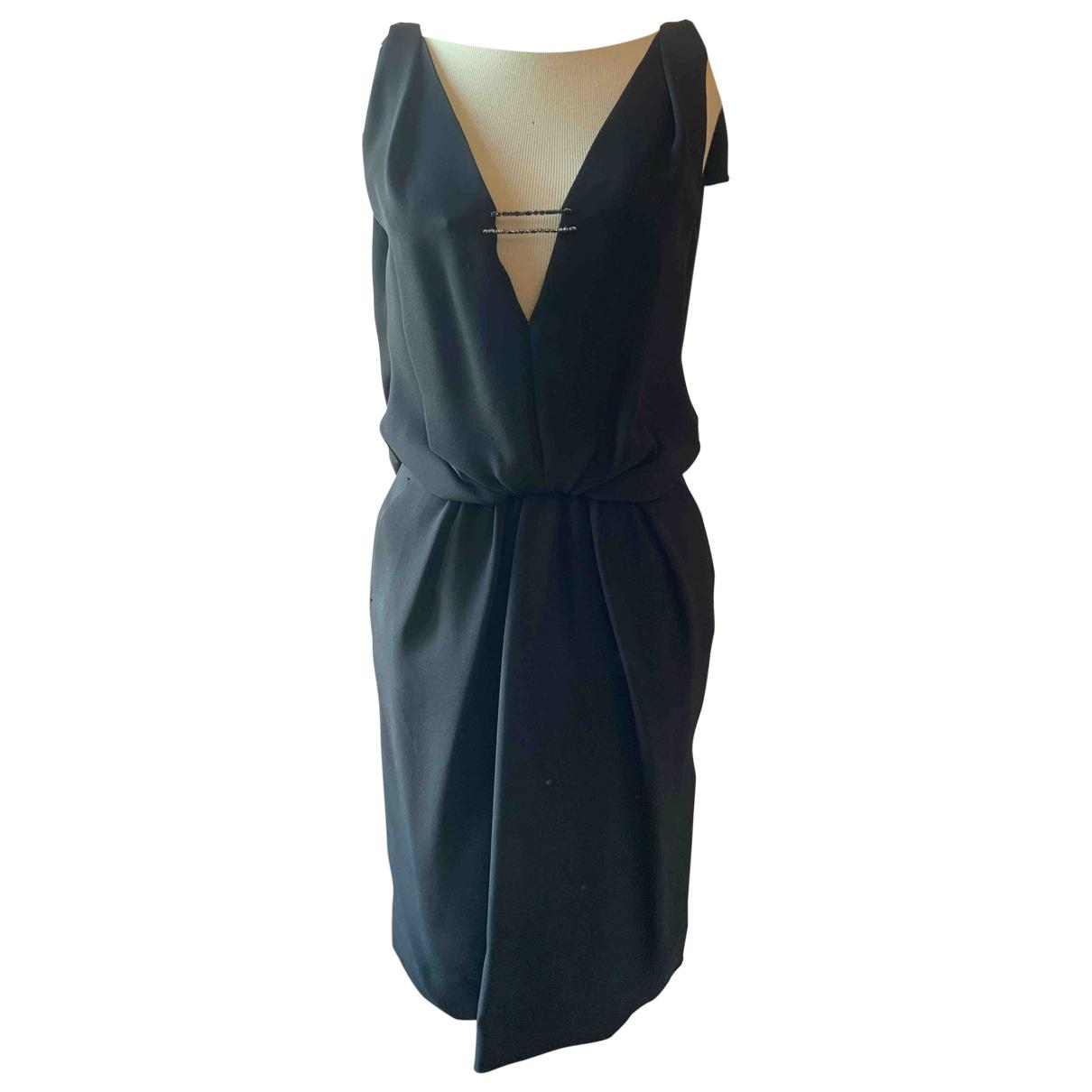 Louis Vuitton \N Black Silk dress for Women 38 FR
