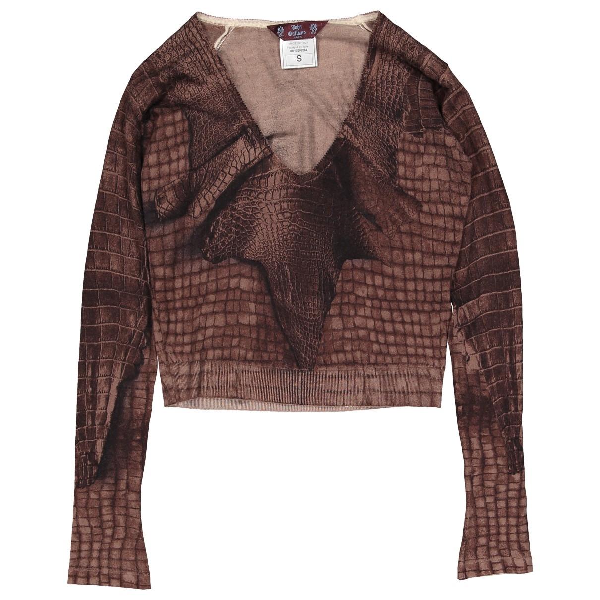 John Galliano \N Brown Cashmere Knitwear for Women S International
