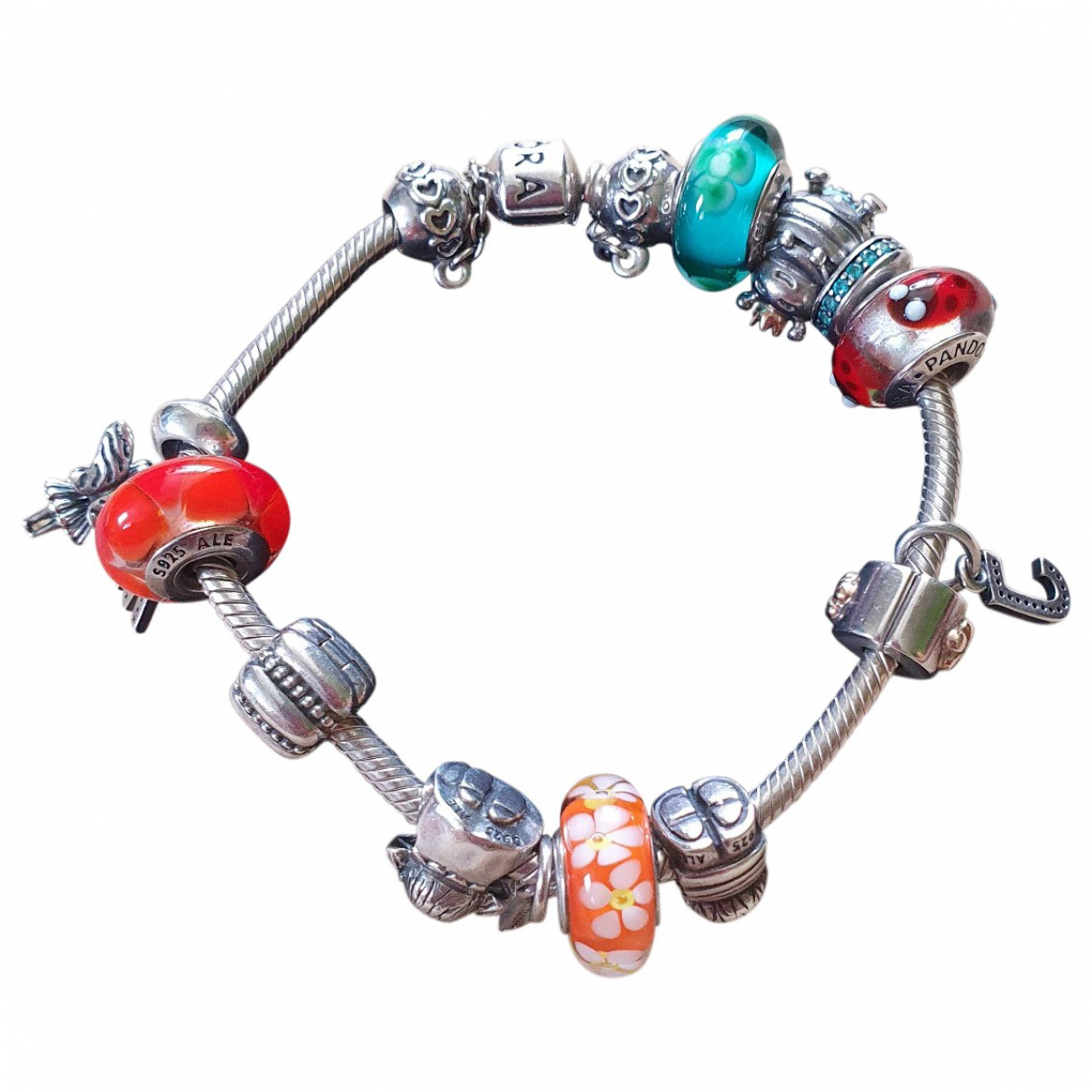 Pandora - Bracelet   pour femme en metal - metallise
