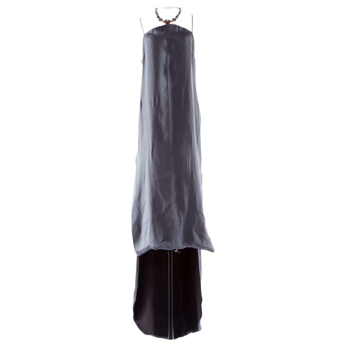 Dior \N Grey Silk dress for Women 40 FR