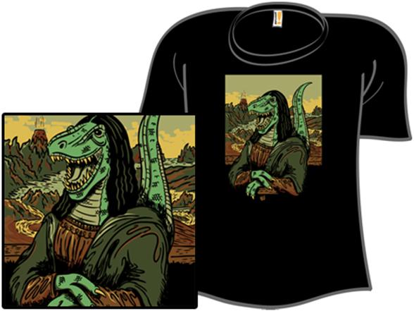 Monalisaur T Shirt