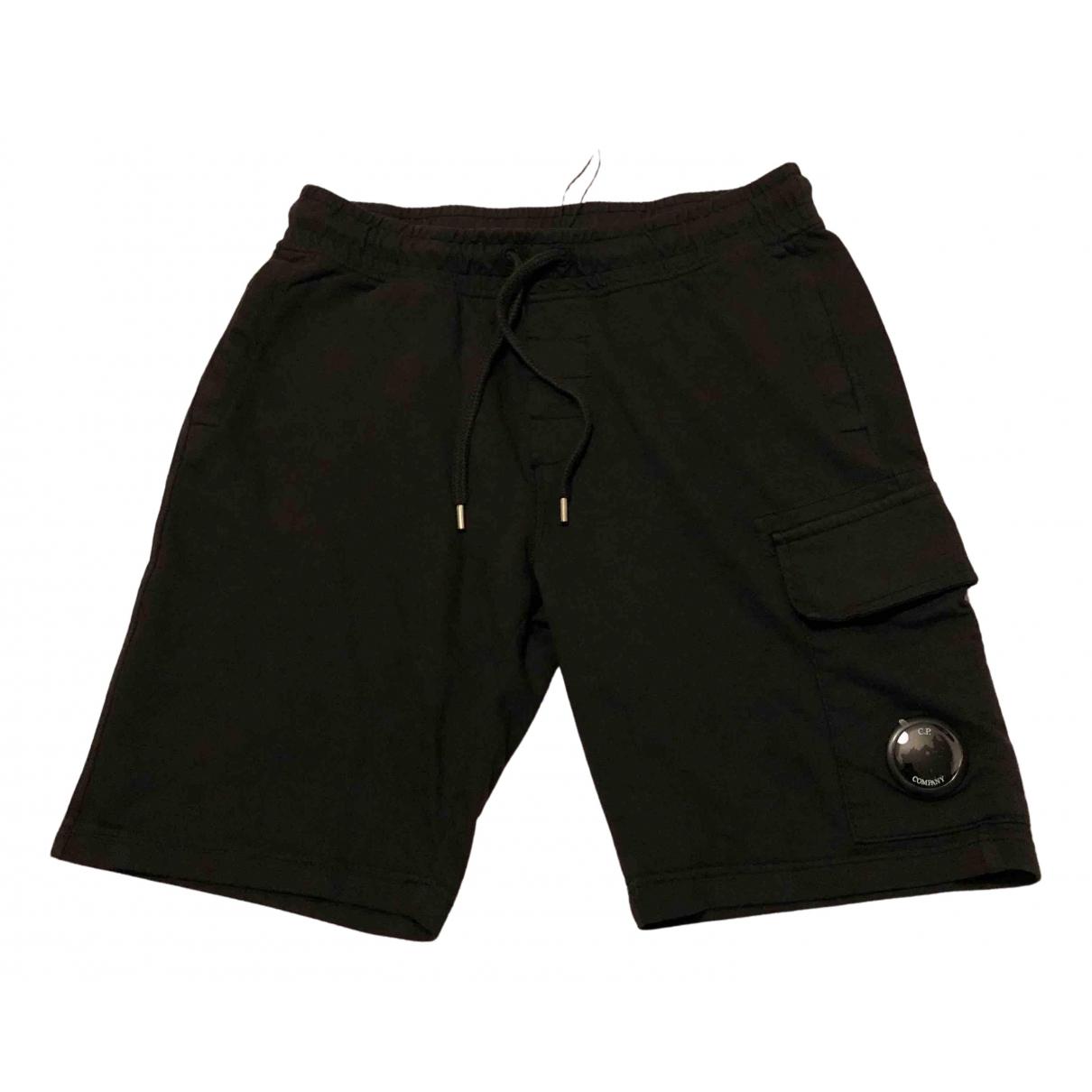 Cp Company - Short   pour homme en coton - noir
