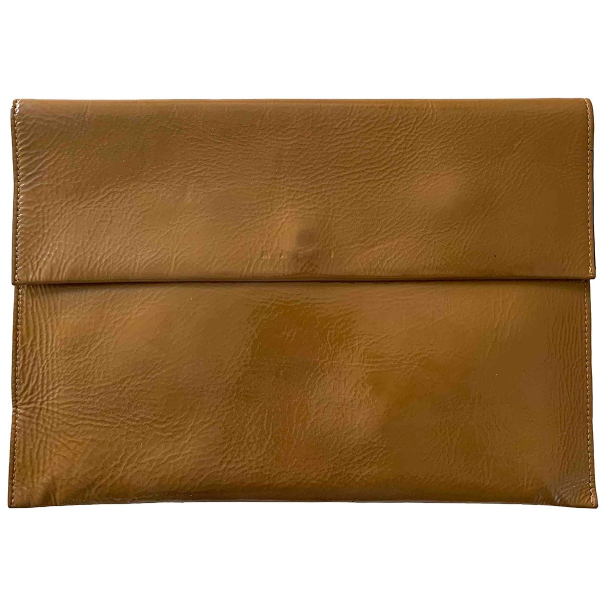 Marni \N Beige Leather Clutch bag for Women \N