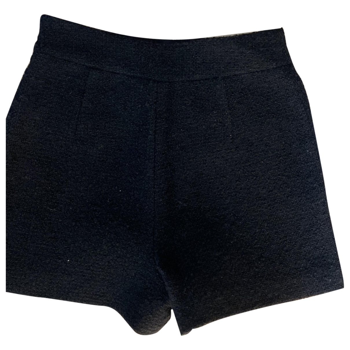 Maje Fall Winter 2019 Black Wool Shorts for Women 36 FR