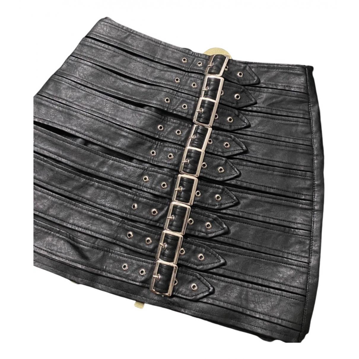 Acne Studios - Jupe   pour femme en caoutchouc - noir