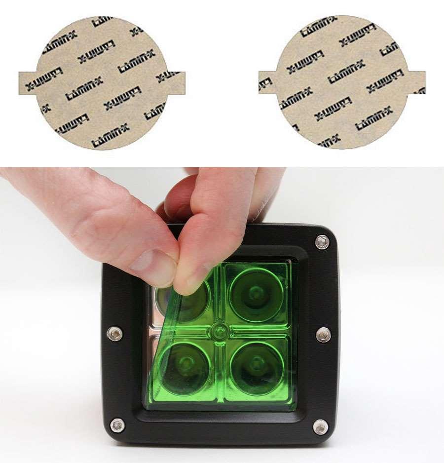 Infiniti FX 12-13 Green Fog Light Covers Lamin-X I119GR