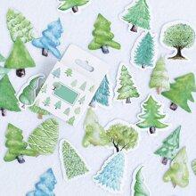45pcs Tree Pattern Sticker