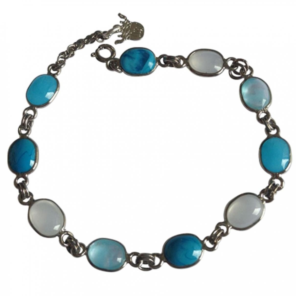 Marguerite De Valois - Bracelet   pour femme en metal - bleu