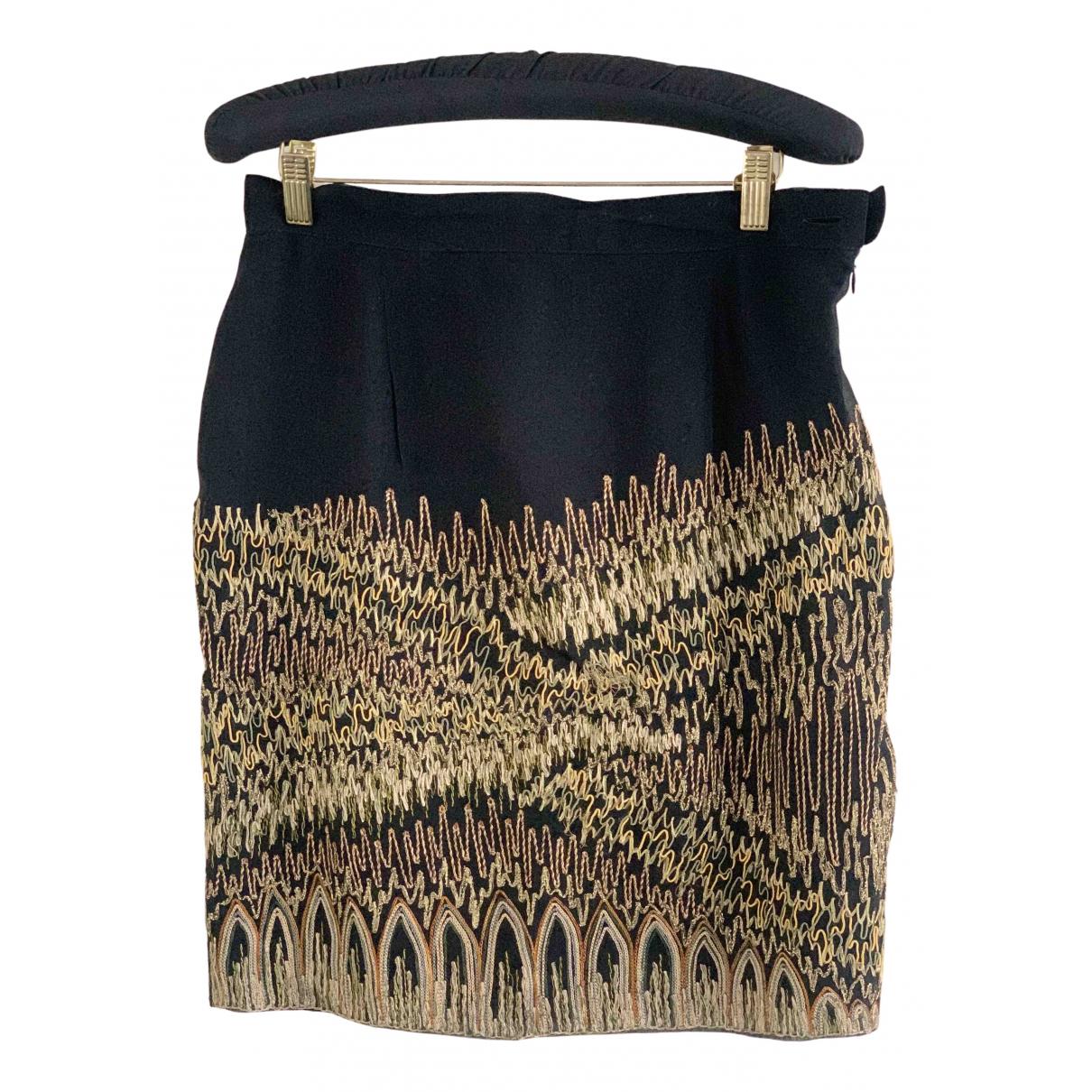Gianfranco Ferré N Black Silk skirt for Women 44 IT