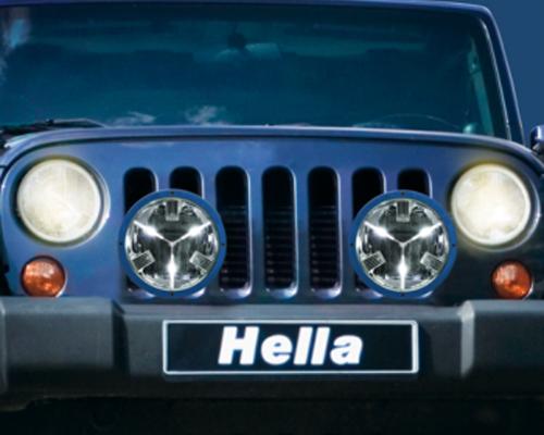 HELLA Rallye 4000 LED Driving Lamp Yellow Color Shieldz