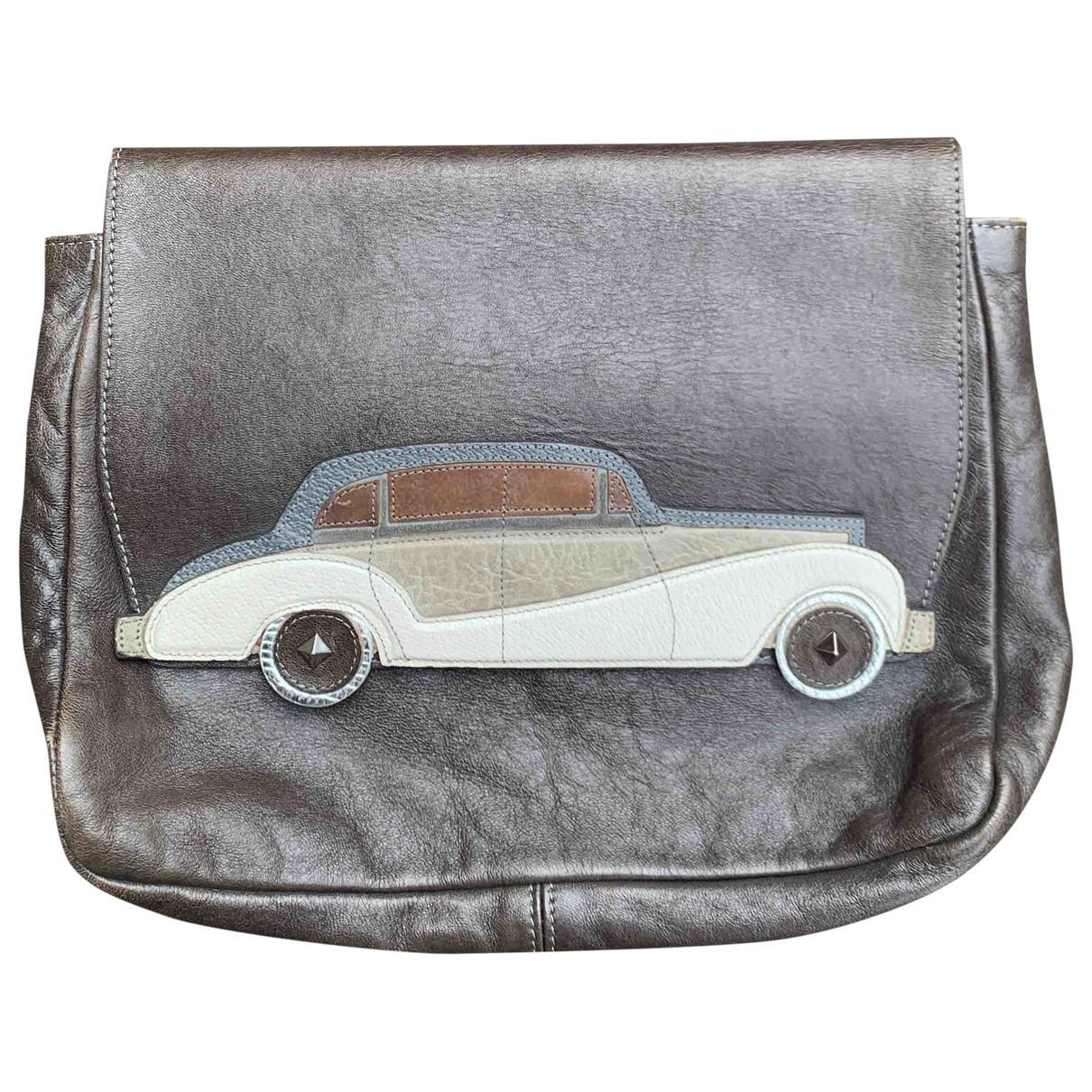 Marc Jacobs \N Grey Leather Clutch bag for Women \N