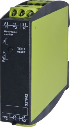 Tele Temperature Monitoring Relay With DPDT Contacts, 24 → 240 V ac/dc Supply Voltage, 1 Phase