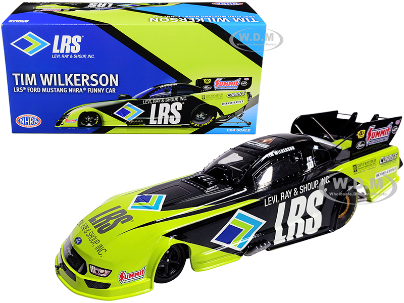 2020 LRS Ford Mustang Tim Wilkerson LRS NHRA Funny Car 1/24 Diecast Model Car by Autoworld