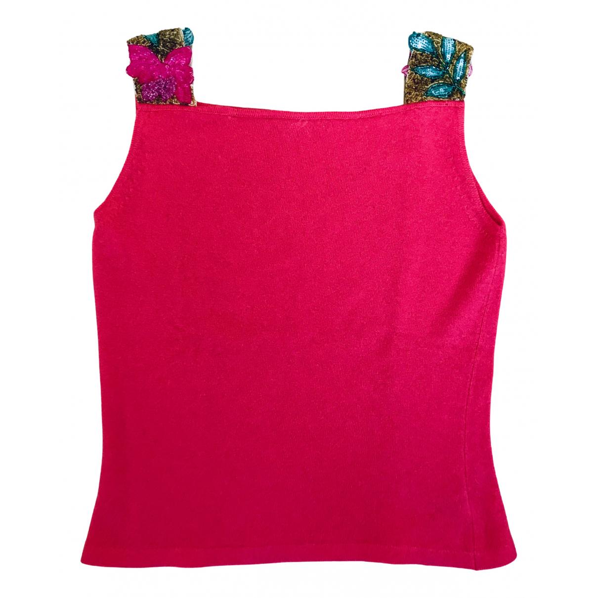 Matthew Williamson - Top   pour femme en cachemire - rose