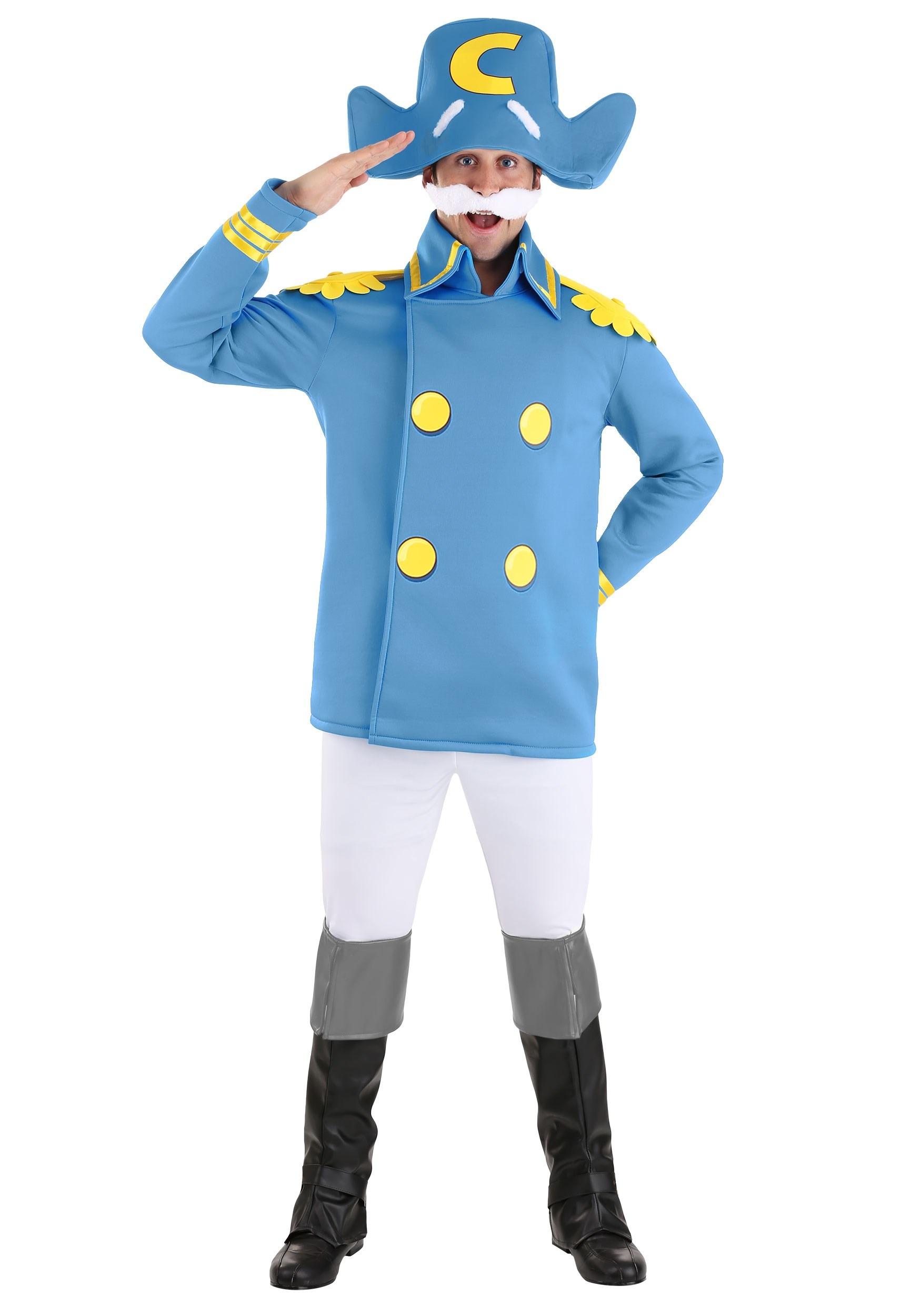 Men's Cap'n Crunch Costume
