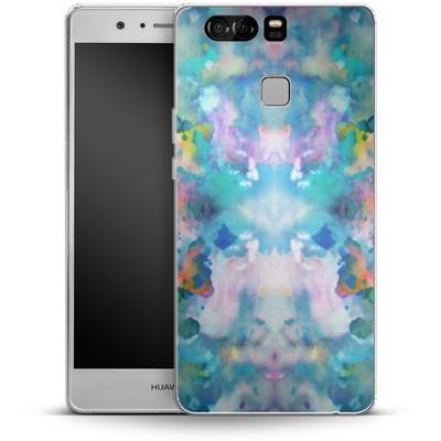 Huawei P9 Silikon Handyhuelle - Paint Splatter von caseable Designs