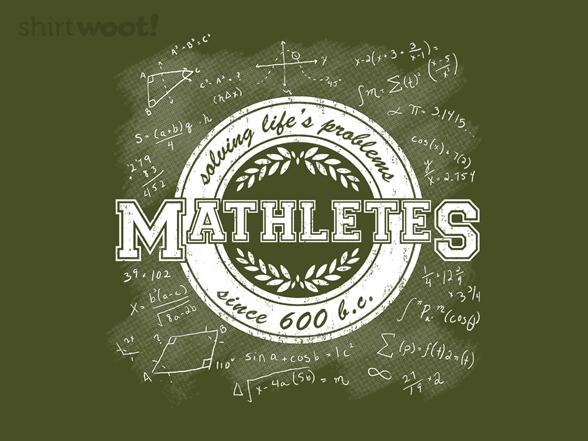 Mathletes T Shirt