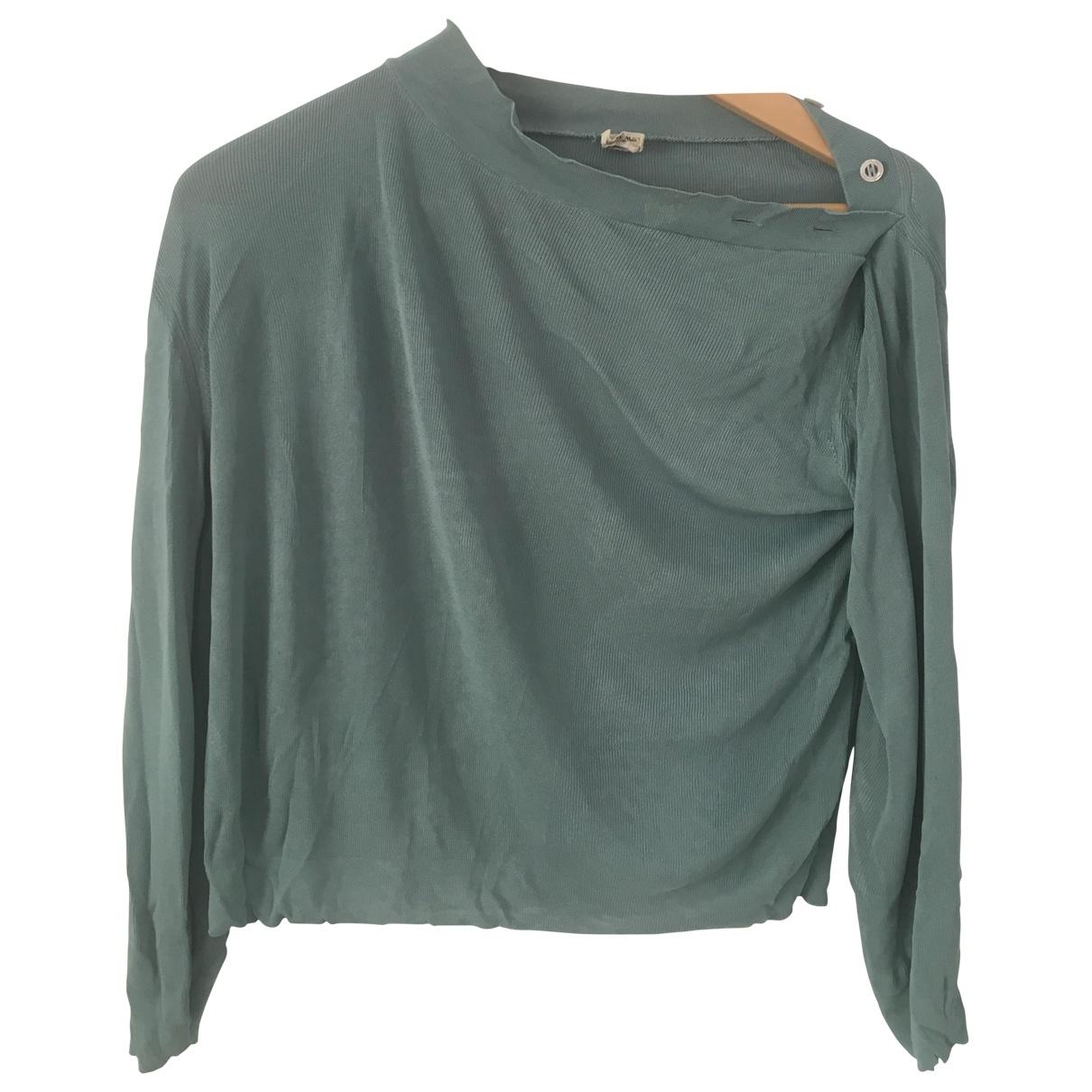 Hermes \N Pullover in  Blau Viskose