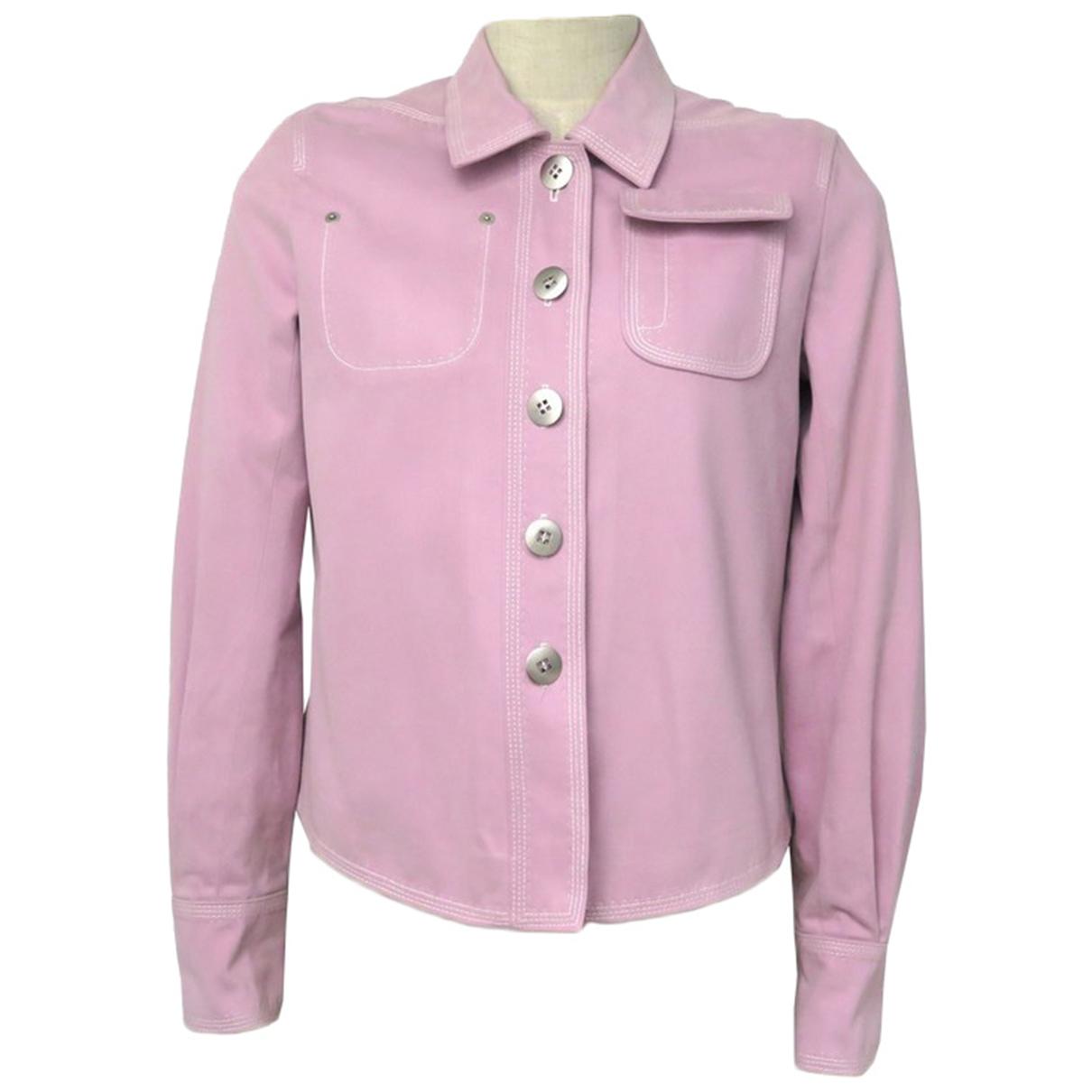Louis Vuitton - Veste   pour femme en coton - rose