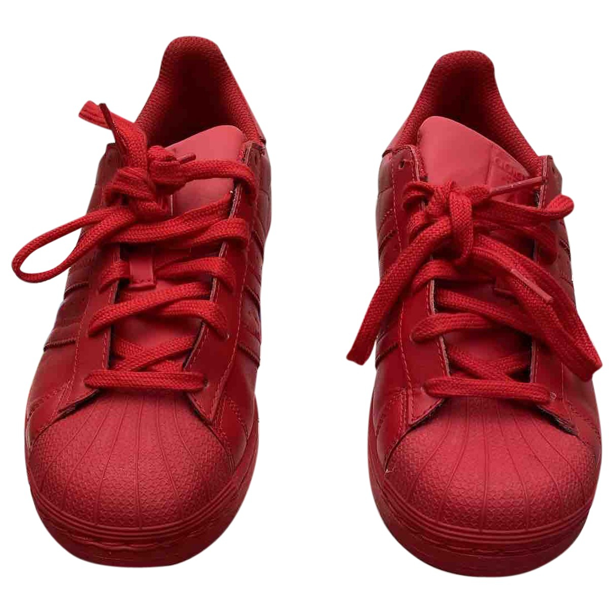 Adidas X Pharrell Williams \N Sneakers in  Rot Polyester