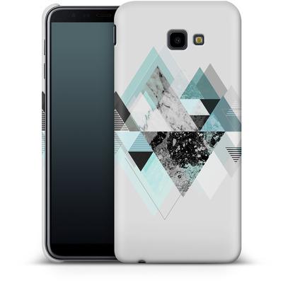 Samsung Galaxy J4 Plus Smartphone Huelle - Graphic 110 - Turquoise von Mareike Bohmer