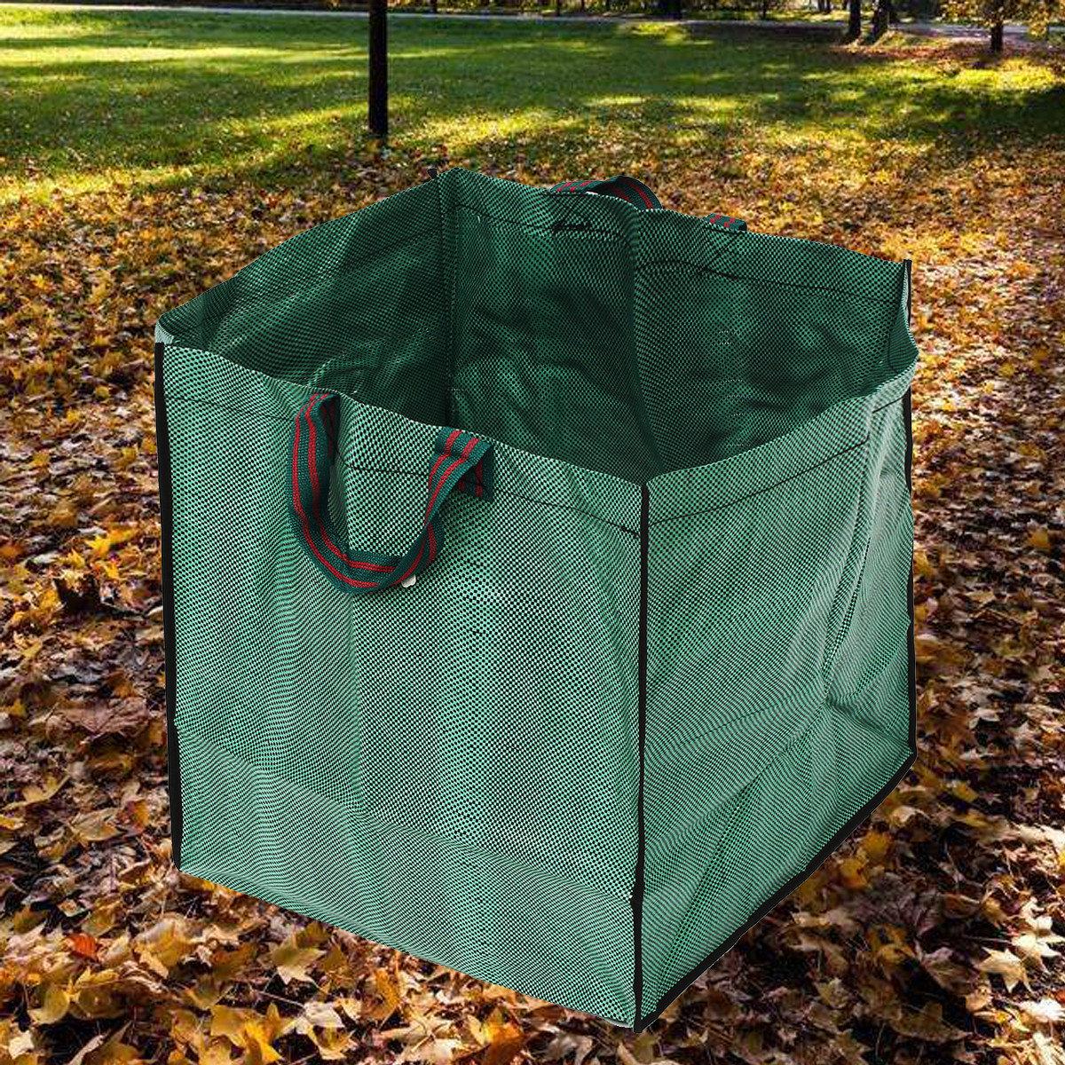 Reusable Garden Waste Bag Rubbish Sack Waterproof Heavy Duty Garden Bag