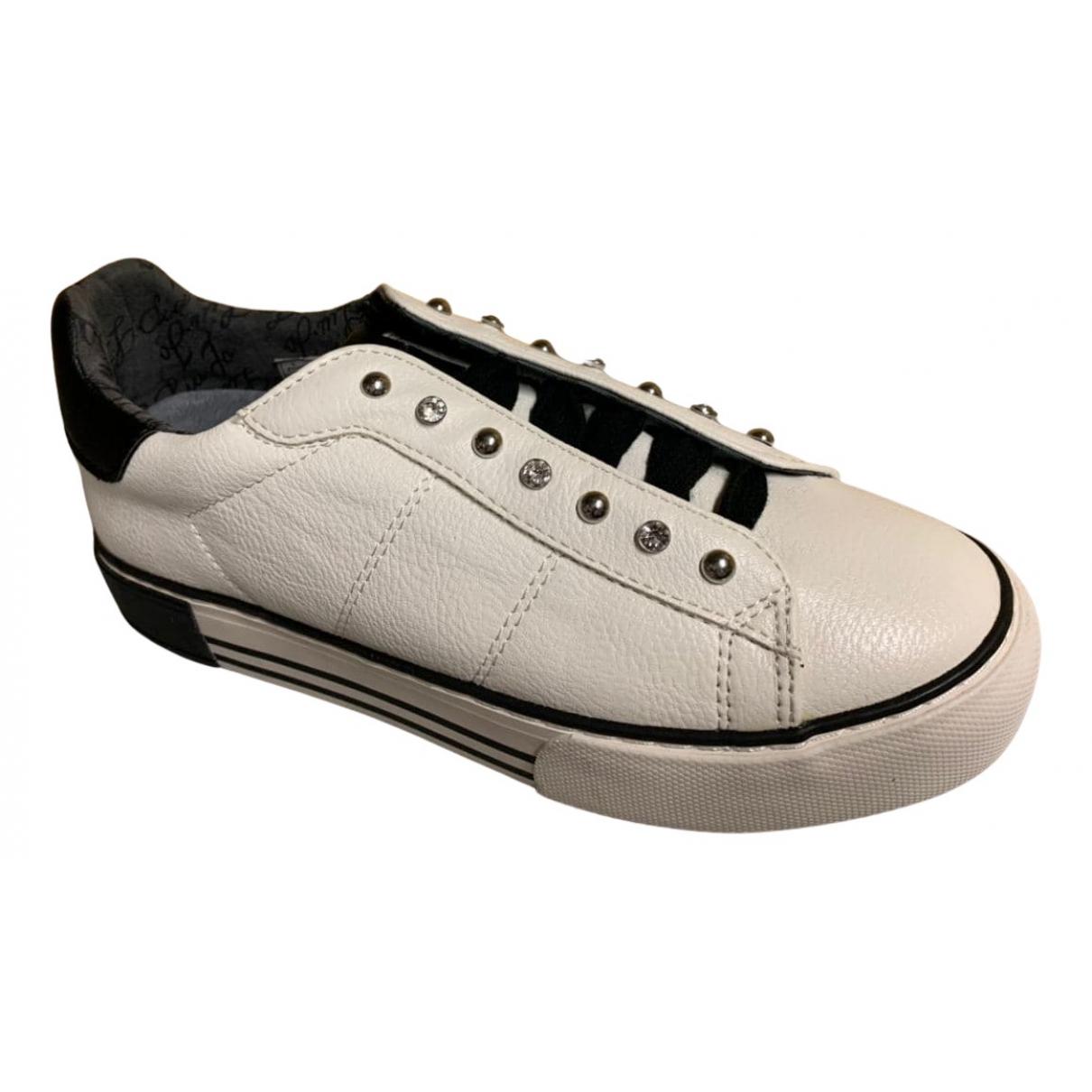 Liu.jo \N Sneakers in  Weiss Leder