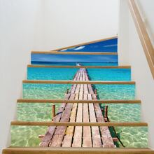 Landscape Print 3D Stair Sticker