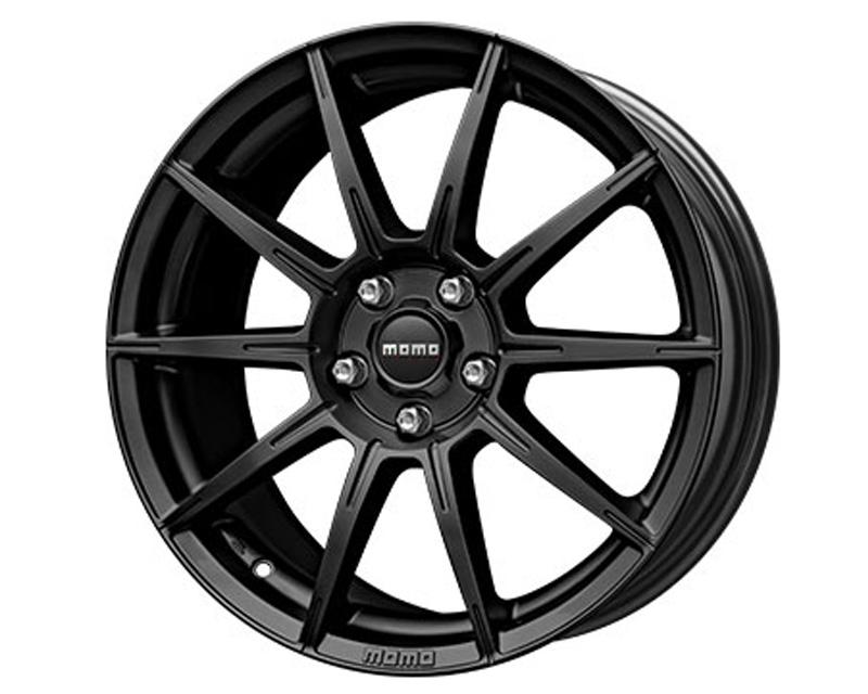 MOMO RU80851245B Rush Matte Black Wheel 18x8 5x112 +45mm