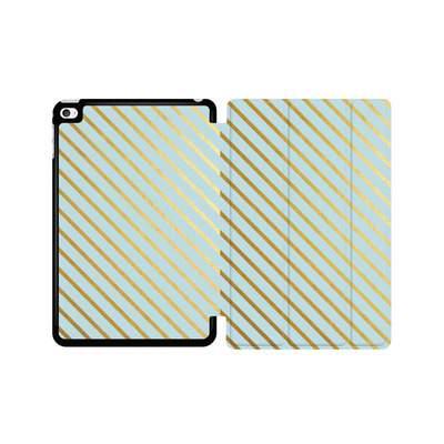 Apple iPad mini 4 Tablet Smart Case - Gold Foil Stripe von Khristian Howell