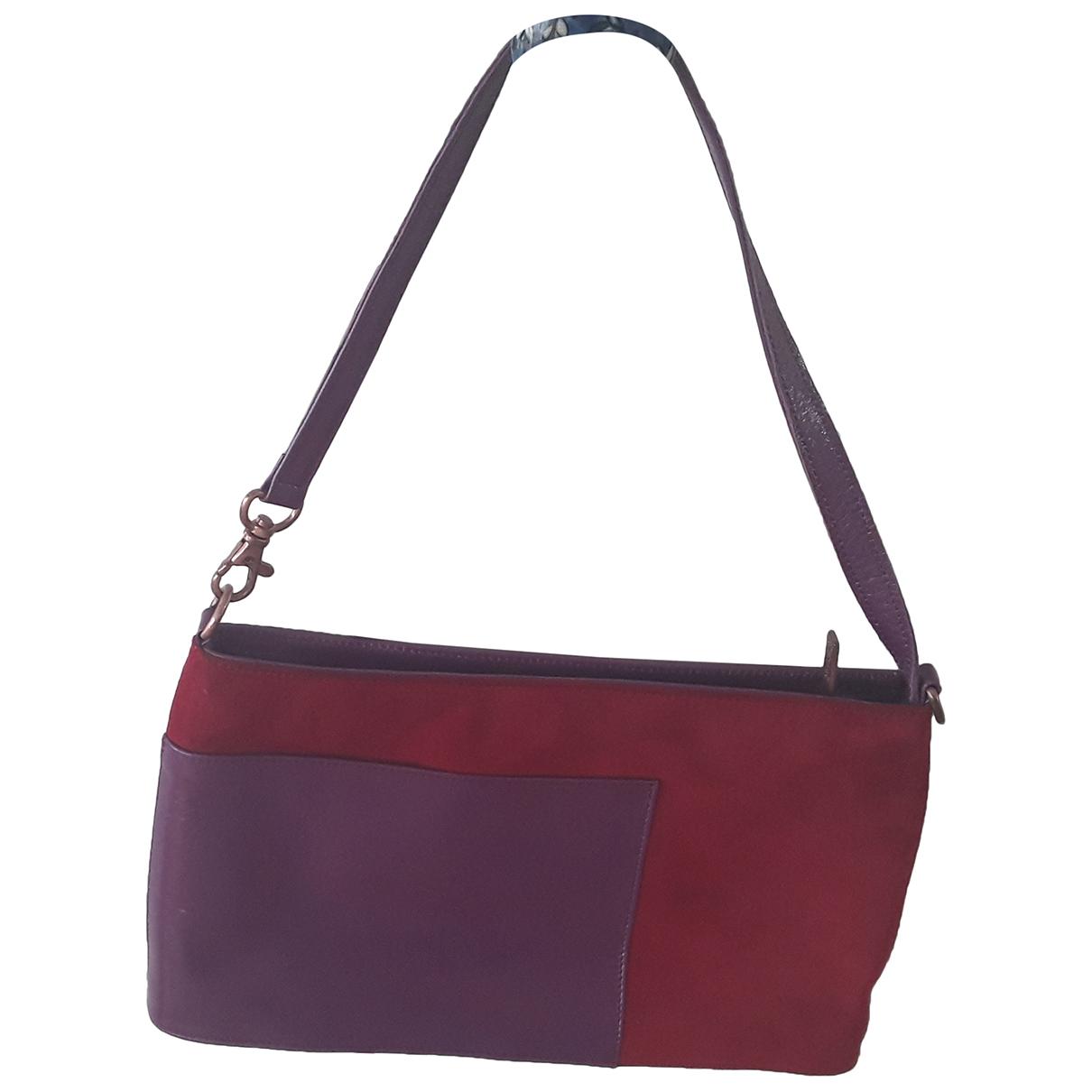 Charles Jourdan \N Burgundy Suede handbag for Women \N