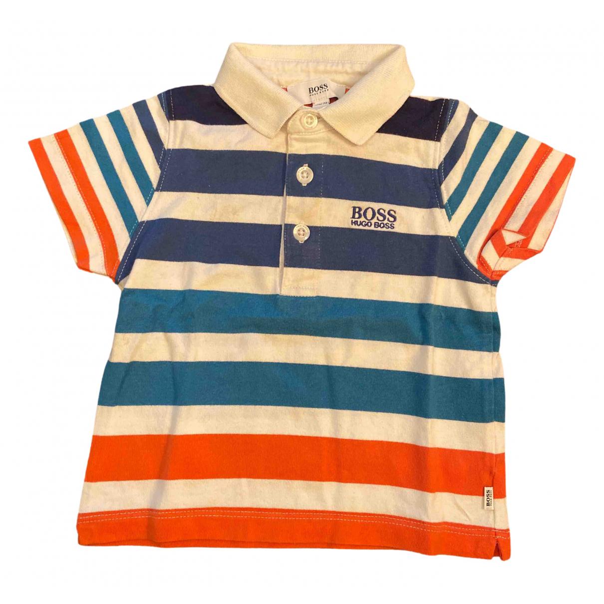 Hugo Boss - Top   pour enfant en coton - bleu