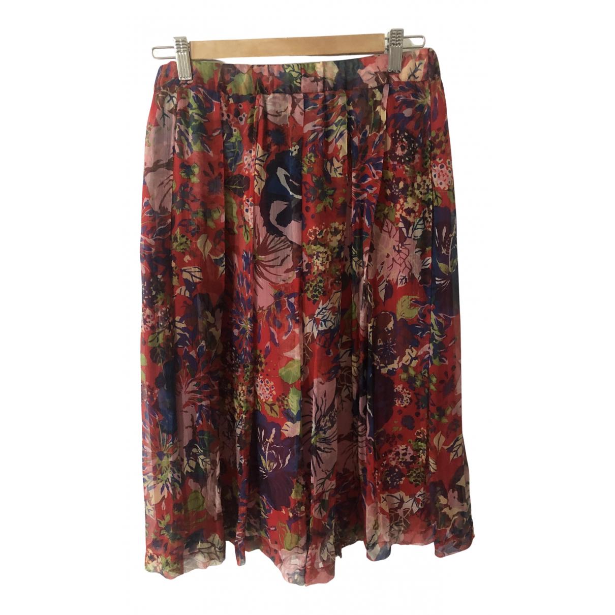 Aspesi - Jupe   pour femme en soie - multicolore