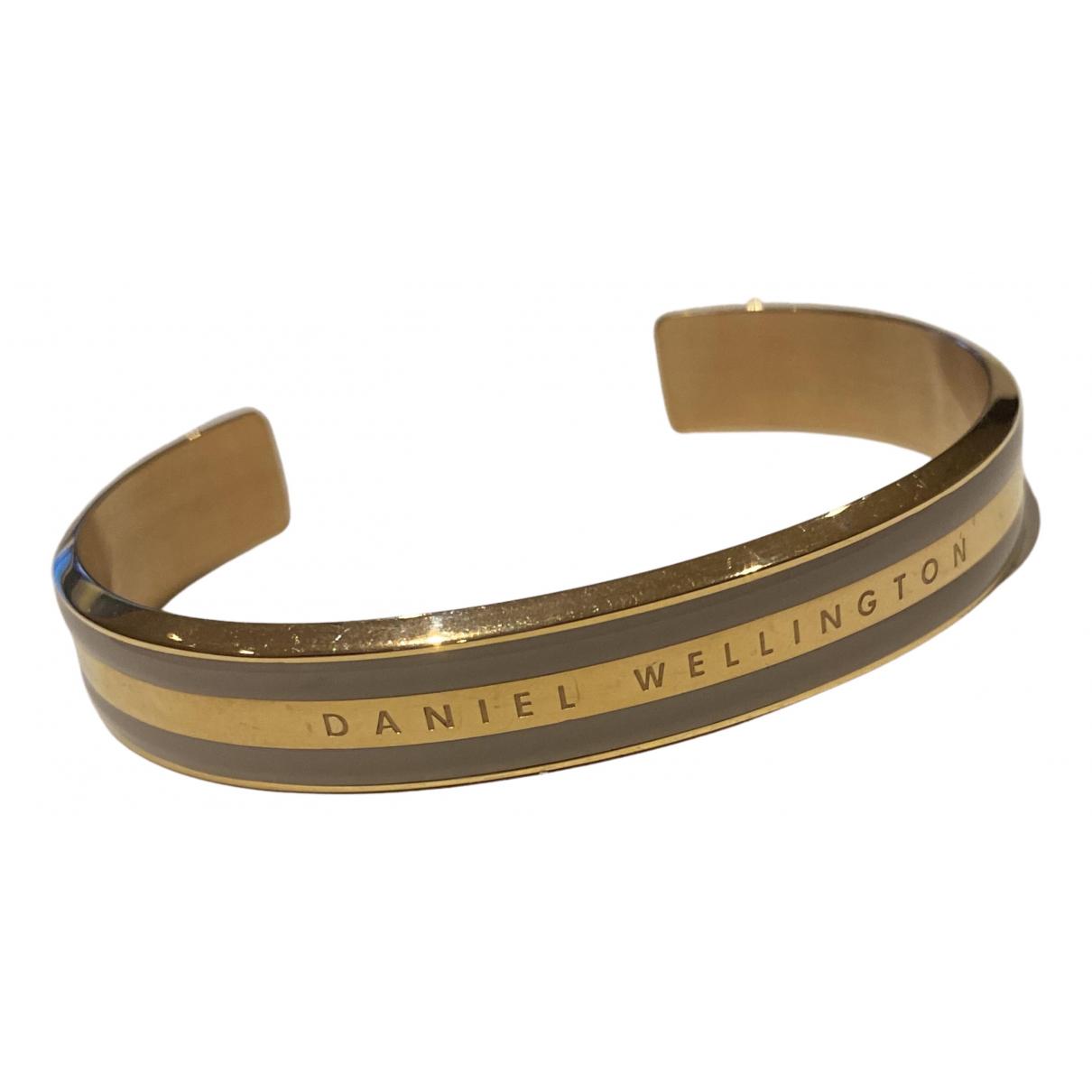 Daniel Wellington - Bracelet   pour femme en acier - dore