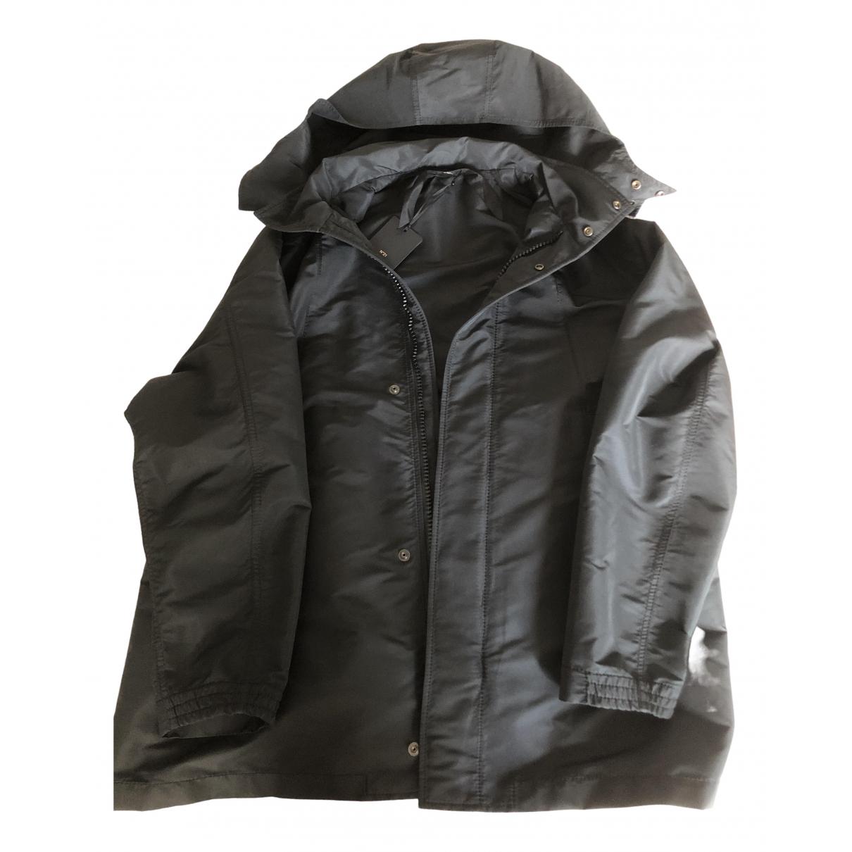 Abrigo en Algodon Negro N°21
